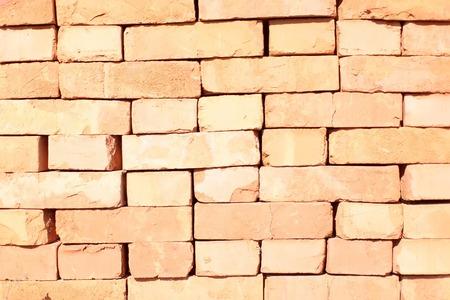 Barro Rojo Ladrillo Materiales De Construcción De Muros De Fachada ...