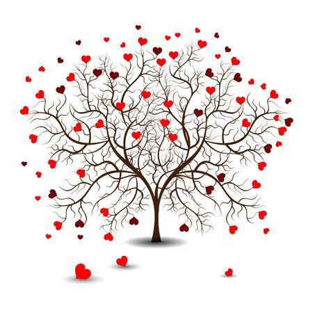 Helle Schöne Farbe Vektor-Grafik-Darstellung Der Valentinstag Liebe ...