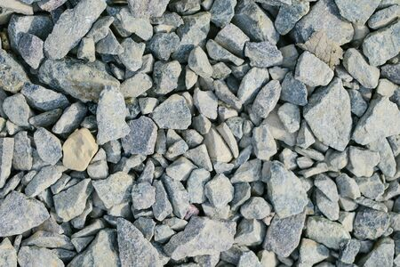 greyish: background of Different grey sharp stones of all sizes Stock Photo