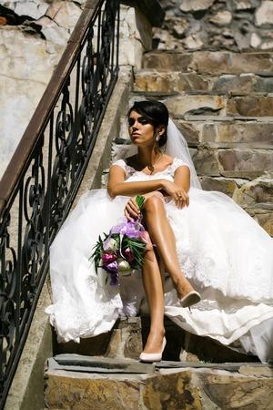 Legs Wedding Dress