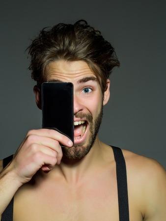 nackt selfie mann