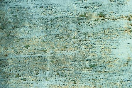 ざらざらした壁。グランジ テクスチャをオーバーレイできます。塗料は、緑のセメントの背景に風化。無視、崩壊と破滅のコンセプト