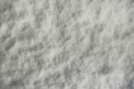 Snow on natural background. White snowy texture surface on winter day. Christmas and new year. Holidays celebration concept.