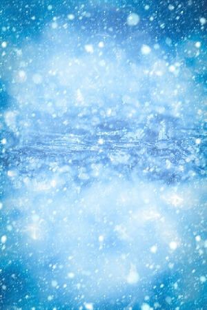 new year christmas snow concept Christmas, frozen window texture. Texture of ice surface. Background with ice frozen texture. Winter ice background, new year. Frost crystal border on ice, Christmas 스톡 콘텐츠