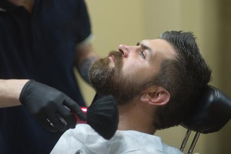 Barber, barbershop, hairdresser, salon. Barber shop concept.