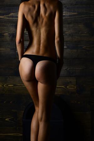 sexy skinny mädchen engen arsch höschen