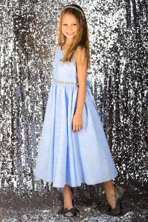 Fashion and beauty, little princess. fashion and beauty