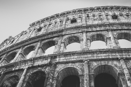 The Colosseum or Coliseum, also known as the Flavian Amphitheatre is an elliptical amphitheatre in the centre of the city of Rome, Italy