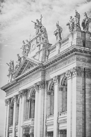Cathedral of St. John Lateran Stock Photo - 100621862