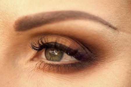 Closeup photo of eye Stock Photo
