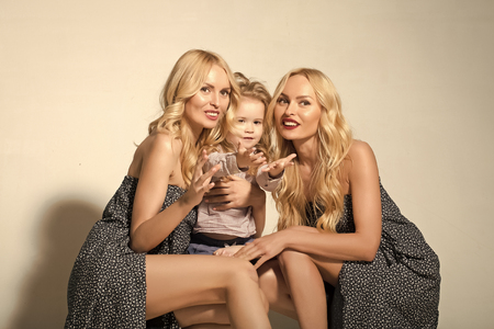 Mothers day, family values, trust, childhood. Stock Photo - 101221303