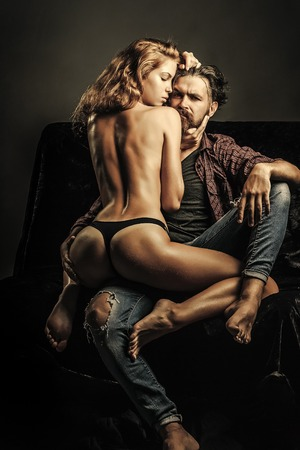 Sexy photo man and woman