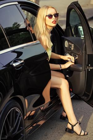 escort service. Modern life, luxury, city, glamour.