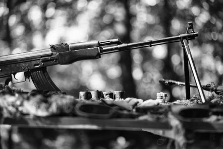 hot Spots. Fighting. War guns arsenal