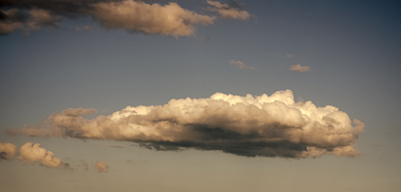 Nature, environment, ecology. Cloudscape, weather, climate. Stock Photo
