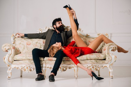 submission. submission of woman to bearded man. sexy couple submission. submission games in love relations. leadership qualities