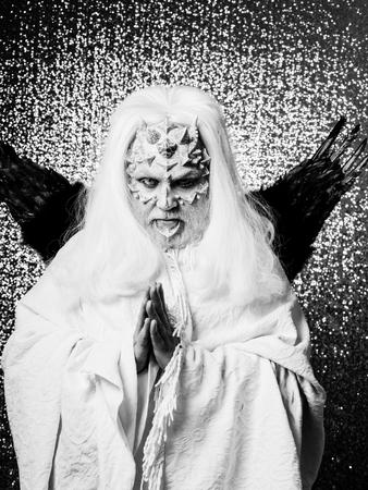 Devil in white cloth