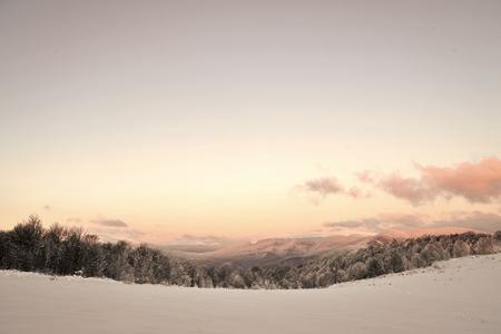 Beautiful winter landscape Stock Photo - 111295586