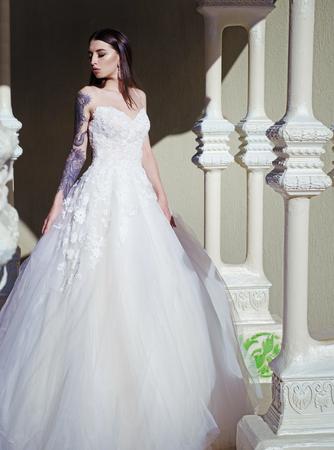 Elegant wedding salon is waiting for bride.
