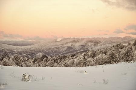 Beautiful winter landscape Stock Photo - 112506761