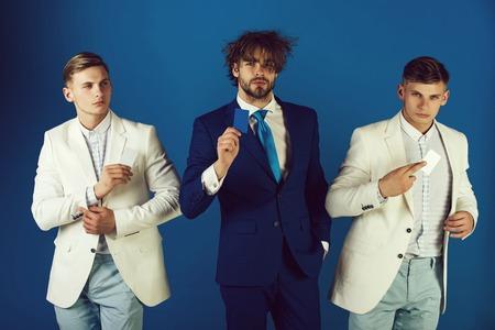 Men wearing formal suits