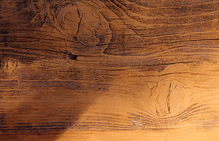 Piece of wood for construction or design. Wooden board. Solid wood. Timber board. Wooden background. Laminated timber with wooden texture. Brown panel or plank of natural material, copy space