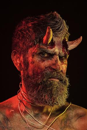 Halloween hell, death, evil, horror concept Zdjęcie Seryjne