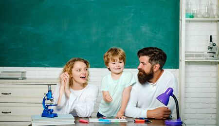 Family school. Mathematics for kids. Parenting Education mathematics concept. Kids gets ready for school. Family educational rights and privacy act.