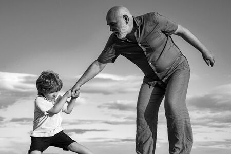 Often the childs misbehavior is simply an attempt to cope with some other problem. Grandfather helping hand. Child rearing. The educative process needs to begin early in a childs life.