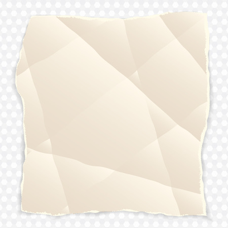 Crumpled Piece Of Paper Clipart