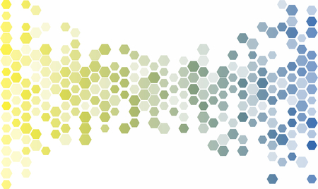 Abstract Hexagon Background. Light Vector Pattern frame Vectores