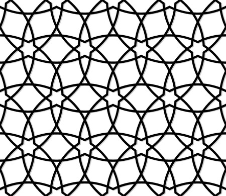 islamic pattern: Seamless pattern in islamic style. Vector background Illustration