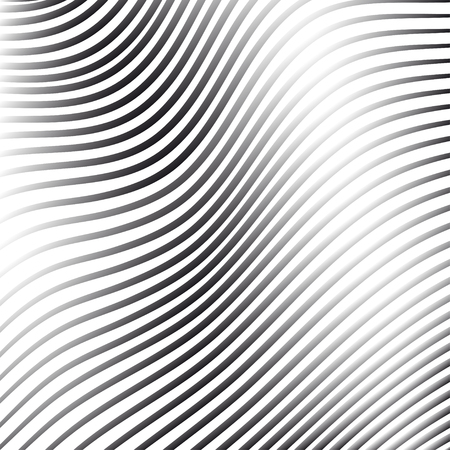 aluminum foil: Silver abstract background with wave line pattern,vector illustration
