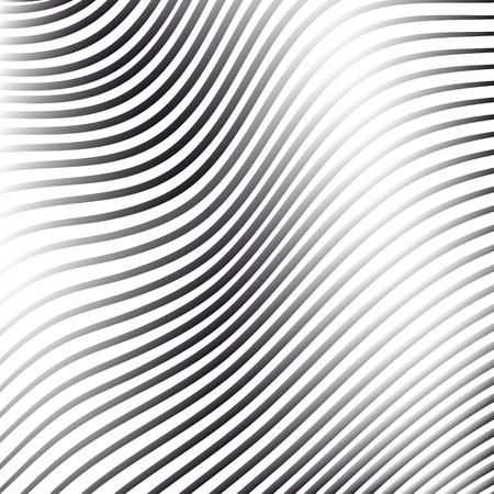 Srebrne tło abstrakcyjne z linii rzutu deseniu, ilustracji wektorowych