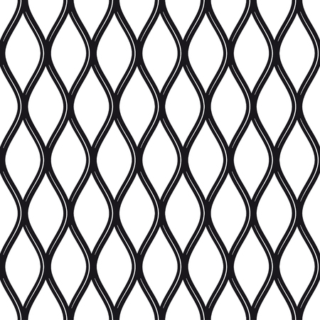 Texture black and white metal expanded lath.