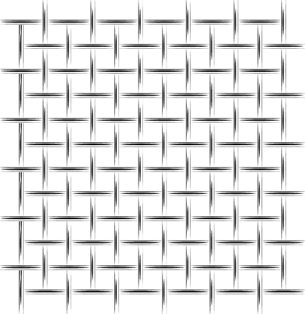 Background black white metal mesh. Simplified drawing. For an article on construction, defense or prison  イラスト・ベクター素材