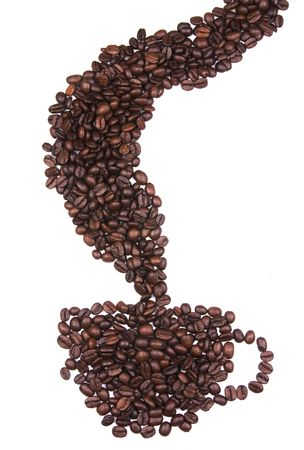 Cup of  Coffee beans Stock Photo - 7481196