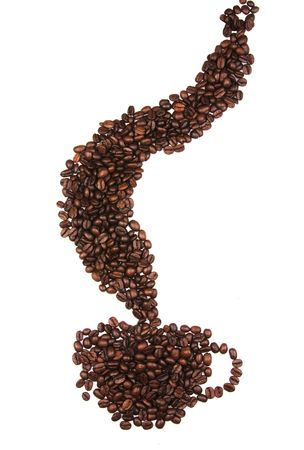 Cup of Coffee beans Stock Photo - 7481175