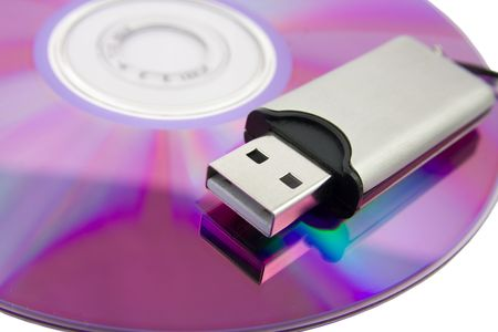USB flash drive photo