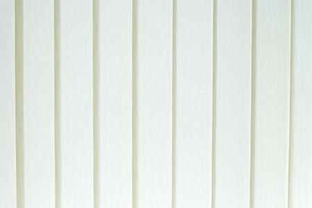 sipario chiuso: Tende verticali bianche tessili spesso chiamato jalousie