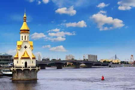 Saint Nicholas church in Kiev, Ukraine  Stock Photo