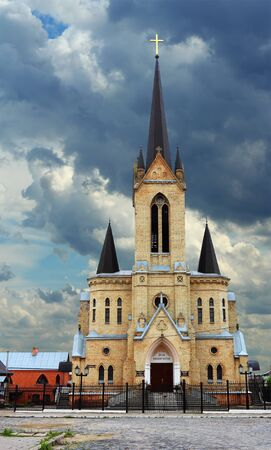 German Lutheran Church in Lutsk, Ukraine Stock Photo - 14607594