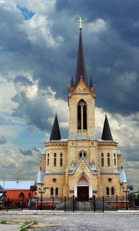 German Lutheran Church in Lutsk, Ukraine Stock Photo - 14607594