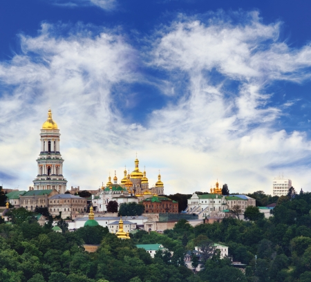 Famous Pechersk Lavra Monastery in Kiev, Ukraine Stock Photo - 14900868