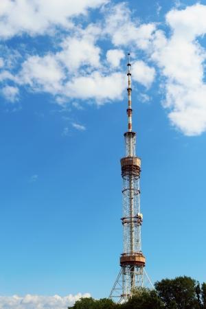 TV tower in Kiev, Ukraine photo