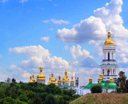 Famous Pechersk Lavra Monastery in Kiev, Ukraine  Stock Photo - 15829596