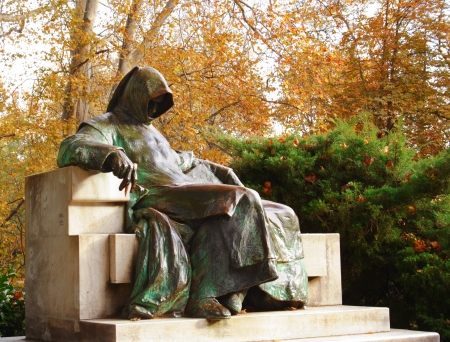 Burapest、ハンガリーの匿名の像