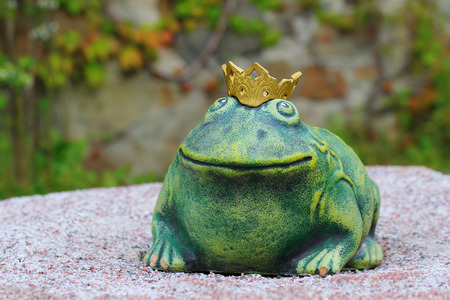The well known character of the Russian fairy tale - the Frog Princess