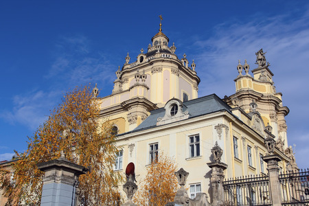 Cathedral of Saint Yura in Lviv, Ukraine