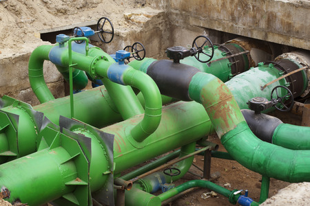 planned: Planned repairs of municipal tubing. A node with valves.